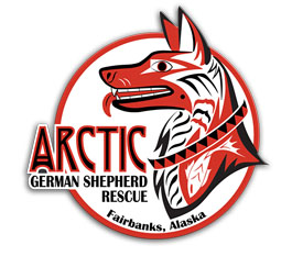 Arctic German Shepherd Rescue Logo