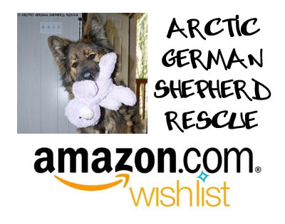 Arctic German Shepherd Rescue Amazon Wish List